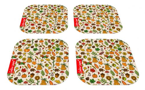 Selina-Jayne Autumn Meadow Limited Edition Designer Coaster Gift Set